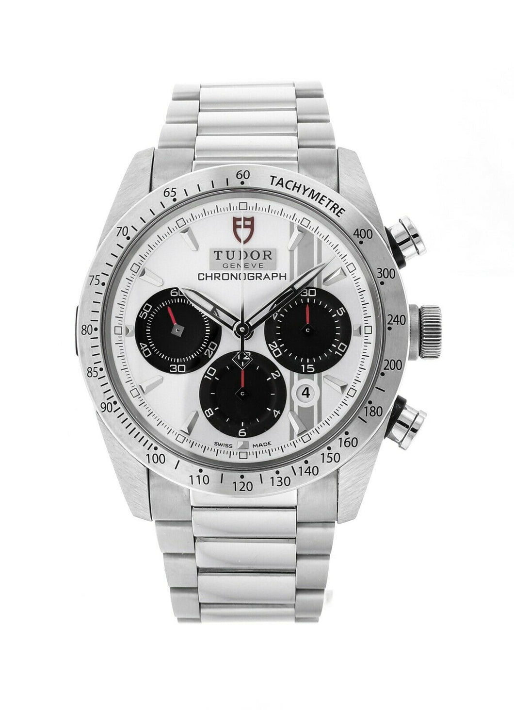 Tudor Fastrider Chronograph Men's 42mm Automatic Stainless Steel Watch 42000
