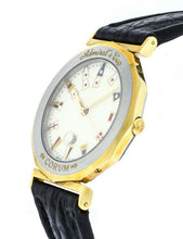 CORUM ADMIRAL'S CUP 34MM STAINLESS STEEL & 18K YELLOW GOLD QUARTZ WATCH
