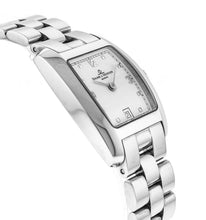 Baume & Mercier Hampton 24mm Ladies Stainless Steel Quartz Watch MOA08024
