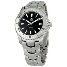 Tag Heuer Link Men's 39mm Stainless Steel Black Dial Watch WJ1110.BA0570