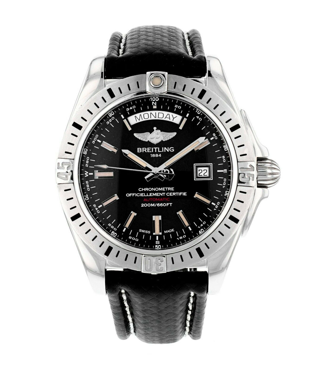 Breitling Galactic 44mm Stainless Steel Automatic Men's Watch A45320