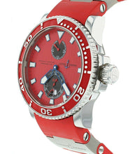 Ulysse Nardin Maxi Marine Diver Red Dial Automatic Men's Watch 263-33-3/96