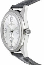 Bell & Ross BR 126 Officer Auto 41mm Steel Mens Strap Watch BRG123-WH-ST/SCR/2