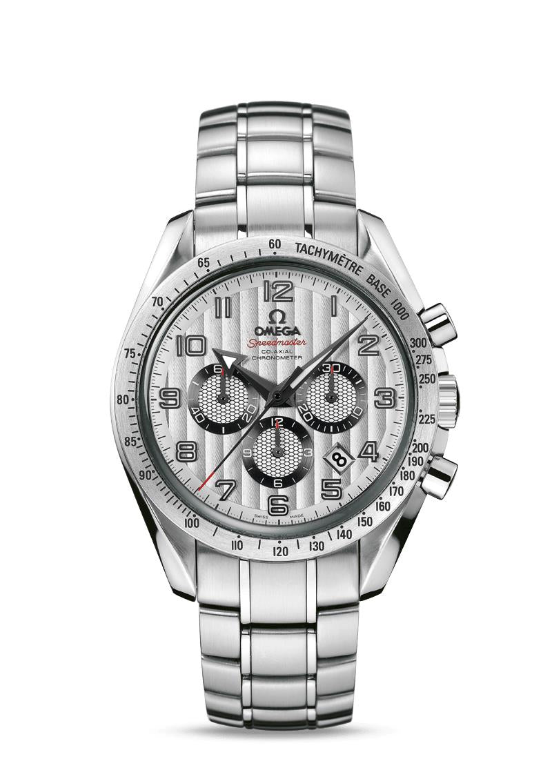 Omega Speedmaster Broad Arrow Silver Dial Chronograph Men's Watch