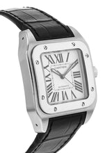 Cartier Santos 100 Stainless Steel Medium Automatic Watch W20106X8