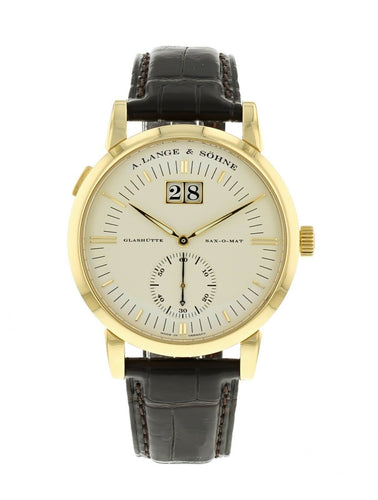 A. Lange & Sohne Grand Langematik 40mm 18k Yellow Gold Men's Watch 309.021
