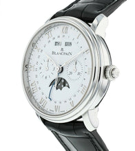Blancpain Villeret Single Pusher Chronograph Complete Calendar Men's 40mm Watch