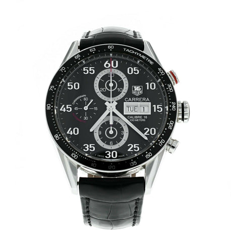 TAG Heuer Carrera Day Date Men's 43mm Automatic Chronograph Watch CV2A10.FC6235