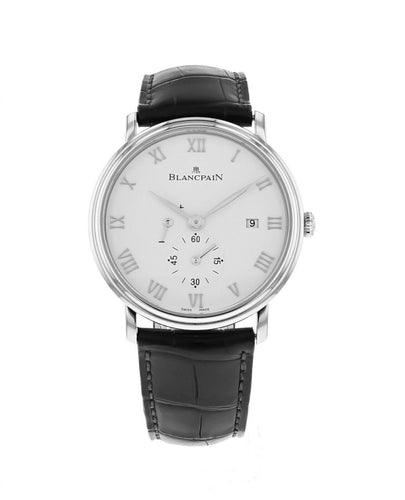 Blancpain Villeret Men's Manual Wind 40mm Watch 6606A-1127-55B