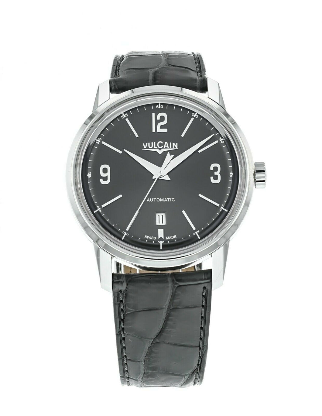 Vulcain 50s Presidents' Classic Men's 42mm Automatic Watch 560156.305L