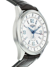 Vulcain Aviator Cricket Dual Time Men's Manual-Wind Alarm Watch 100133.210LF