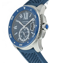 Cartier Calibre Diver Blue Dial/Rubber Band Automatic 42mm Men's Watch WSCA0011