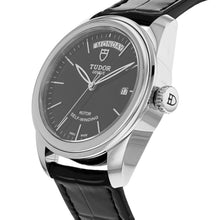 Tudor Glamour Day-Date 39mm Men's Leather Strap Automatic Watch M56000-0023