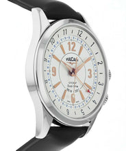 Vulcain Cricket Dual-Time 42mm Manual-Wind Stainless Steel Men's Watch