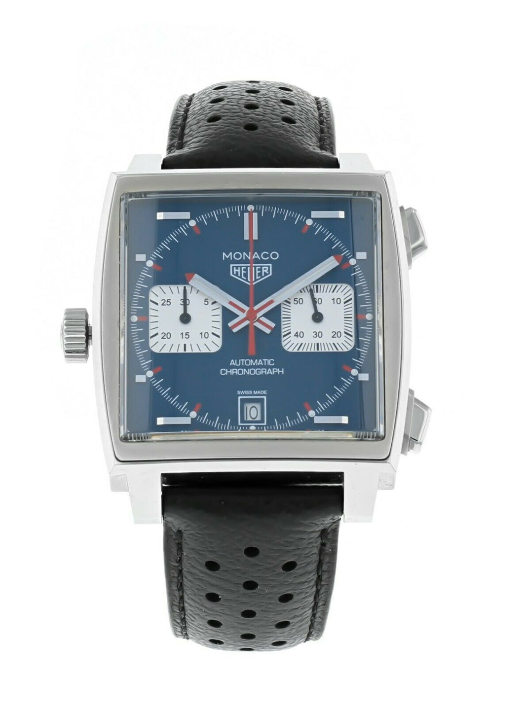 Tag Heuer Monaco Calibre 12 Men's Automatic Chronograph Watch CAW2111.FC6183