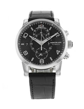 Montblanc Timewalker Chronograph Black Dial Men's 43mm Automatic Watch 105077