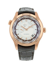 Zenith Class Traveller Multicity Mens 18K Rose Gold 44mm Automatic Watch