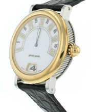 Gerald Genta Retro Classic Jumping-Hour Automatic 36mm 18k Gold & Steel Watch