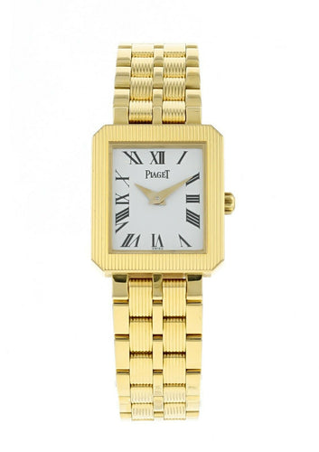 Piaget Protocole 18k Yellow Gold Ladies Quartz Watch GOA22054