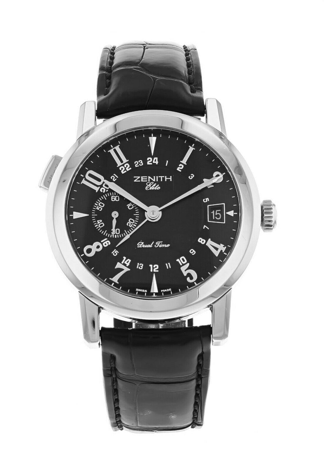 Zenith Port Royal Dual Time 38mm Automatic Mens Watch 01.0451.682.22/C492
