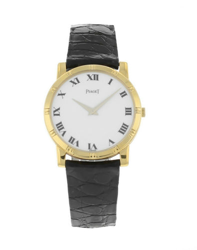 Piaget Classic 18k Yellow Gold Quartz 31mm Watch 522914