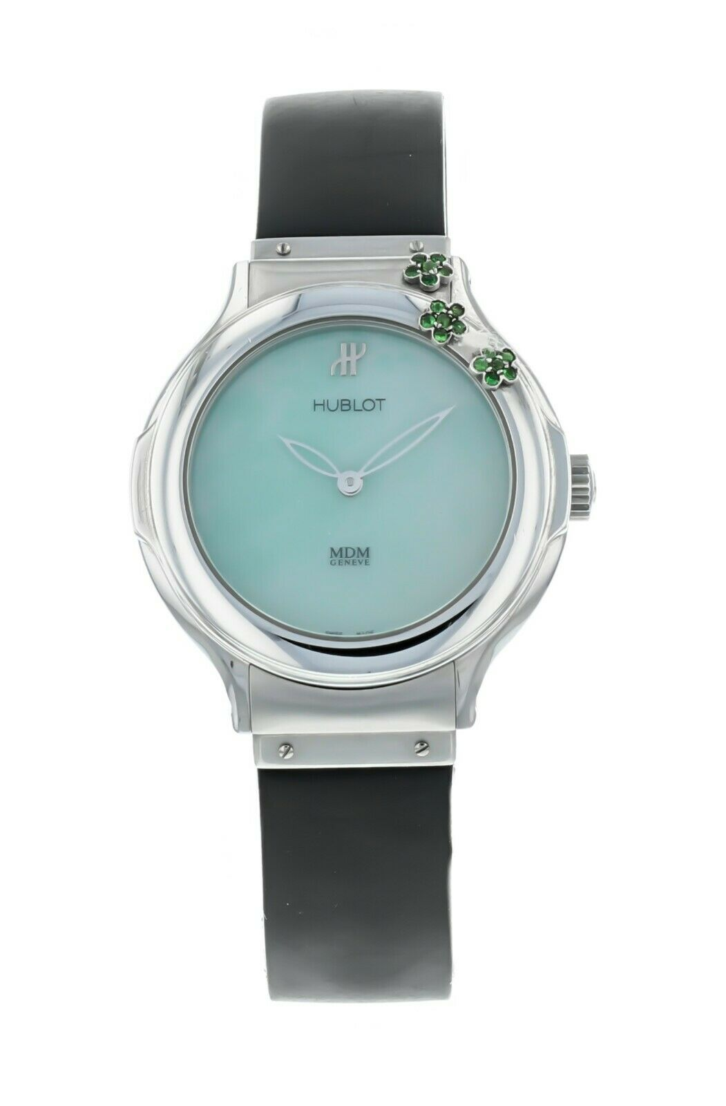 Hublot Classic Flowers MDM 32.5mm Ladies Quartz Watch 1420.TUR.1