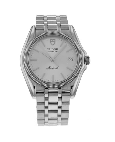 Tudor Monarch 33mm Quartz Stainless Steel Watch 15730/50160