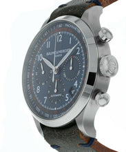 Baume & Mercier Blue Dial Chronograph Automatic Men's 44mm Watch MOA10065