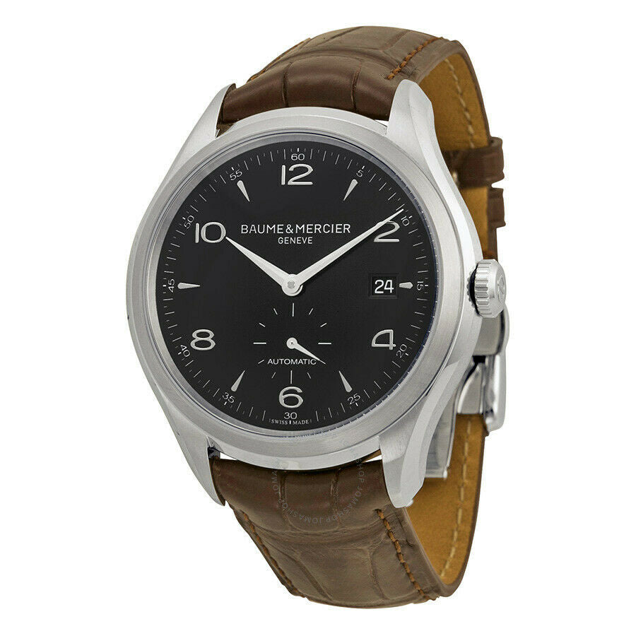 Baume & Mercier Clifton Automatic Black Dial Men's 41mm Watch MOA10053