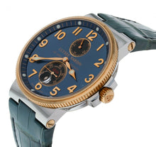 Ulysse Nardin Maxi Marine Automatic Blue Dial 18k Rose Gold & Steel Men's Watch