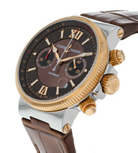 Ulysse Nardin Maxi Marine Chronograph 18k Rose Gold & Steel Men's Watch 355-66