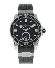 Ulysse Nardin Diver Black Diamond Dial Ladies Automatic Watch 3203-190-3/12