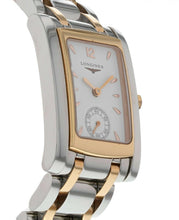 Longines Dolce Vita Stainless Steel & 18k Rose Gold Ladies Watch l5.502.5.18.7