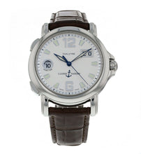 Ulysse Nardin Dual Time Men's 40mm Automatic Leather Strap Watch 223-88