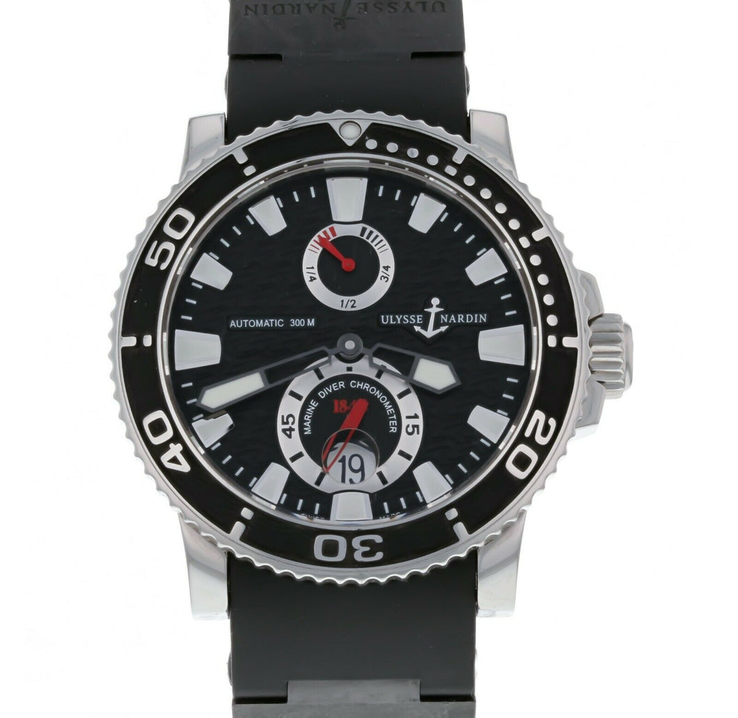 Ulysse Nardin Maxi Marine Diver Men's 42.7mm Automatic Watch 263-33-3