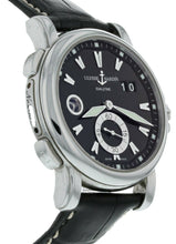 Ulysse Nardin GMT Big Date Black Dial Stainless Steel Men's 42mm Watch 243-55/92