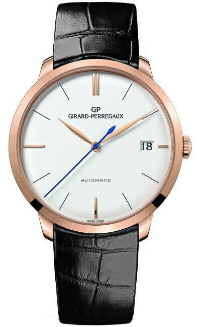 Girard Perregaux 1966 18k Rose Gold Men's Automatic 41mm Watch 49527-52-131-BK6A