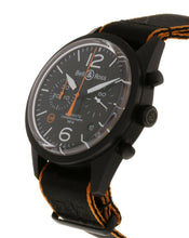 Bell & Ross BR 126 Vintage Mens Limited Edition 41mm Chronograph Watch BRV126