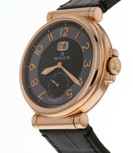 Milus Zetios Automatic Black Dial Men's 18k Rose Gold 42mm Watch ZET400