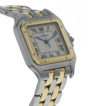Cartier Panthere 18k Yellow Gold and Stainless Steel Ladies 26mm Quartz Watch