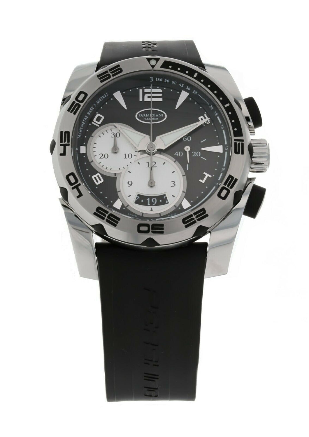 Parmigiani Pershing 45mm Chronograph Men's Automatic Watch PF601396-06