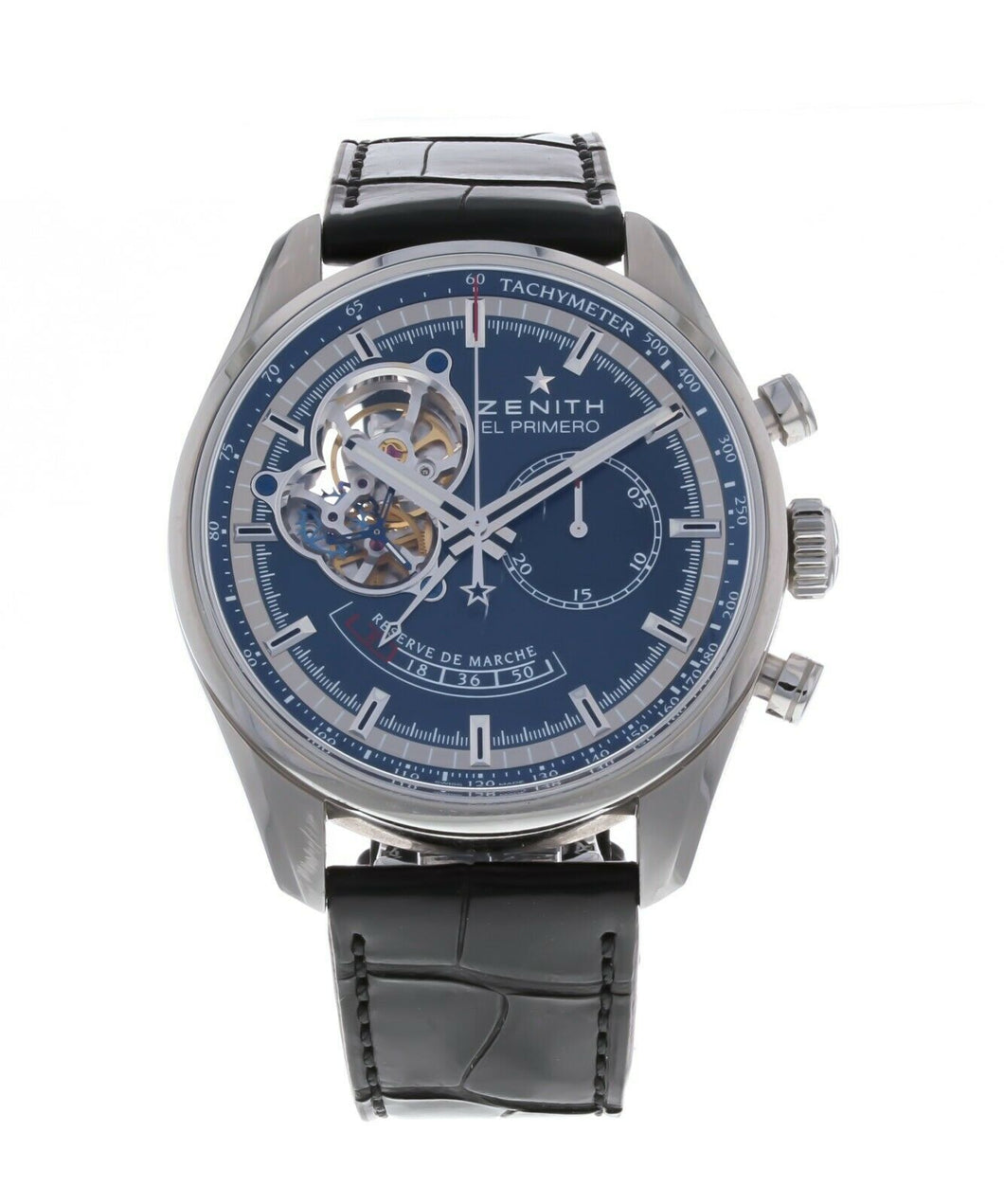 Zenith El Primero Chronomaster Blue Dial Automatic 42mm Men's Watch 03.2085