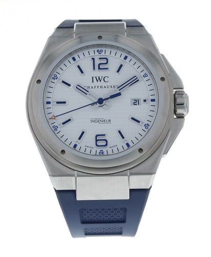 IWC Ingenieur Mission Earth Automatic Men's Blue Strap 46mm Watch IW323608