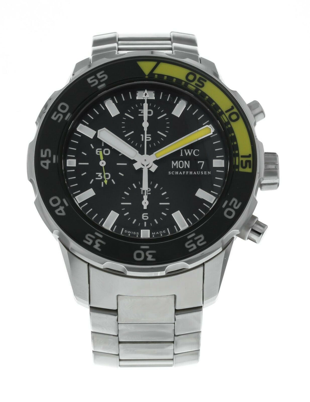 IWC Aquatimer Chronograph Men's 44mm Automatic Stainless Steel Watch IW376708