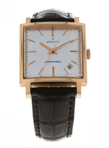 Zenith Vintage 1965 18k Rose Gold Men's Watch Limited to 250 Pieces 18.1965.670