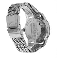 Breilting Superocean Heritage 46mm Men's Steel Mesh Bracelet Watch A1732016/C734
