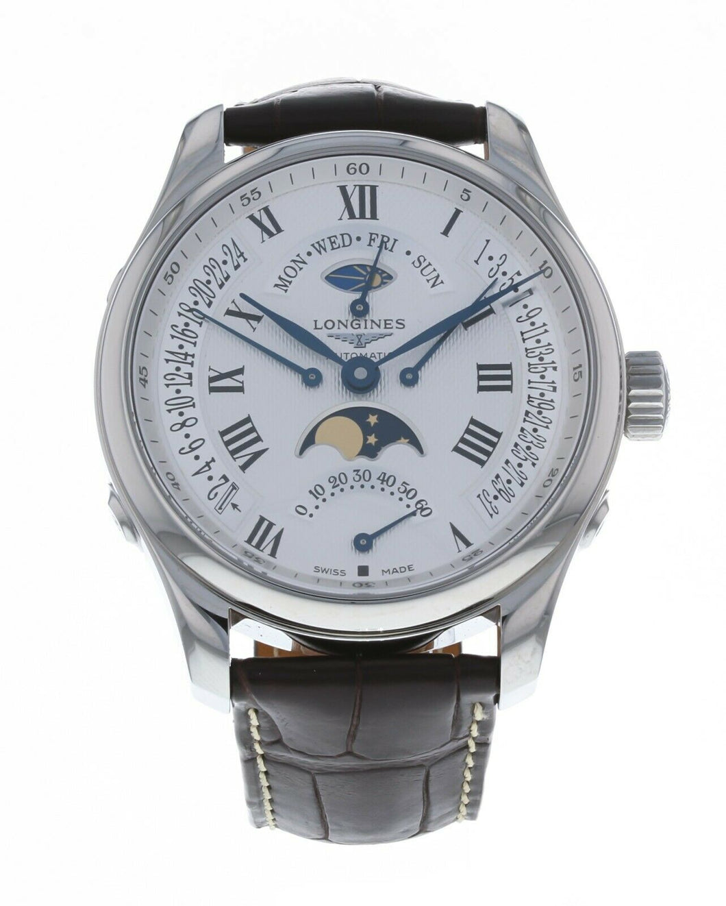Longines Master Collection Automatic Moon Phase GMT Men's Watch L27394713