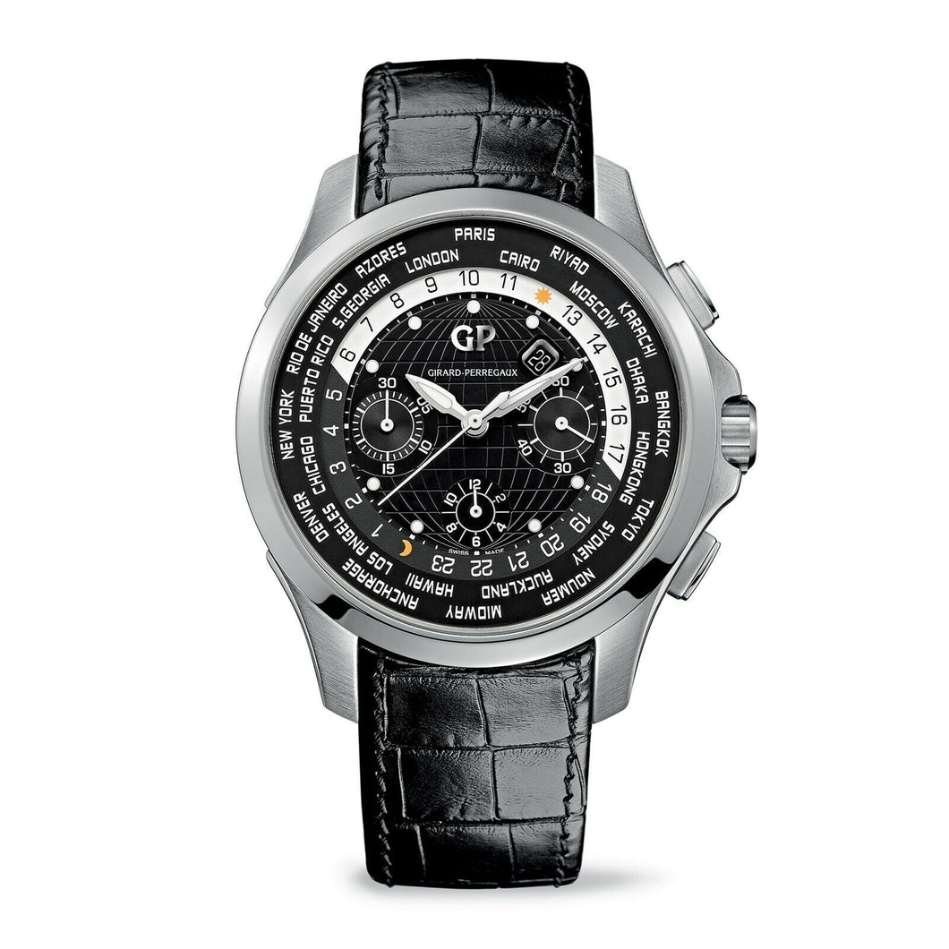 Girard Perregaux Traveller WW.TC Chronograph Automatic Men's 44mm Watch 49700