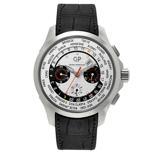 Girard Perregaux Traveller WW.TC Automatic Chronograph Men's 44mm Watch 49700