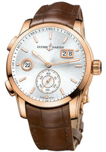 Ulysse Nardin Dual Time Automatic Men's 18k Rose Gold Watch 3346-126/91 TANG